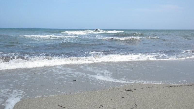 zum Abschluss zeigt sich das Meer noch von seiner stürmischen Seite