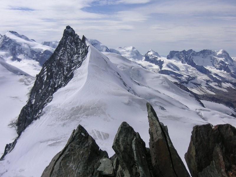 Aussicht vom Allalinhorn