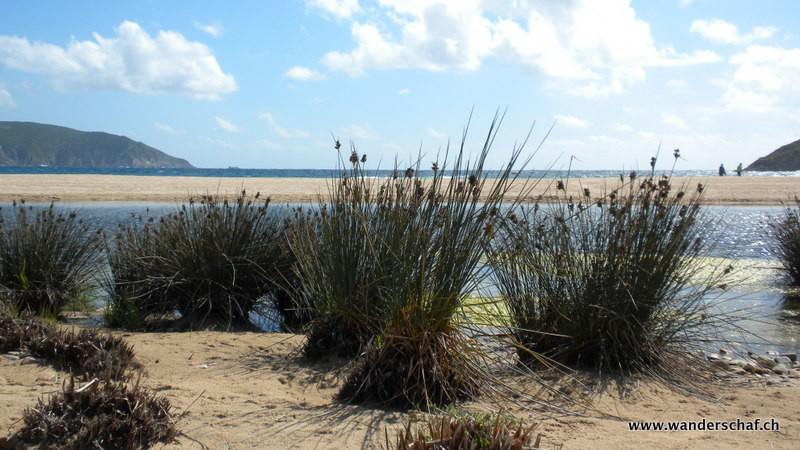 kurzer Abstecher zum schönen Strand von Arone