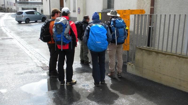 die Wanderleiter in Ausbildung in Action ;o)
