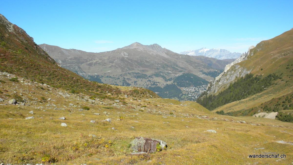 Blick von Sanaspans Richtung Fulberg