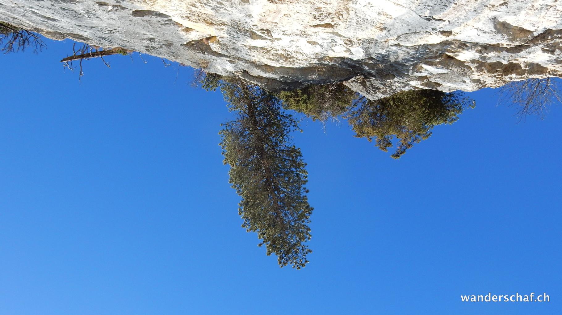 ein wahrhaftiger Cliff-Hänger