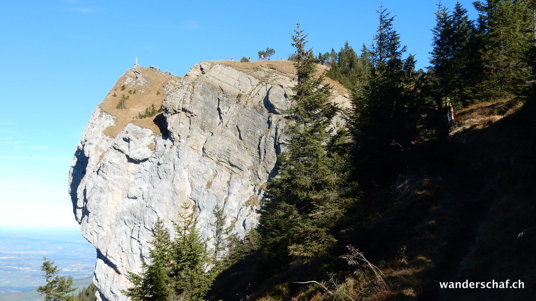 Blaue Tosse oder wie im Gipfelbuch geschrieben Risetenstock