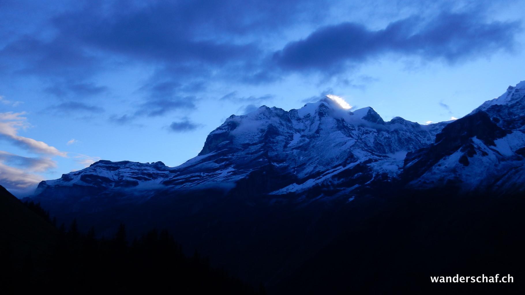 Morgenstimmung an der Jungfrau