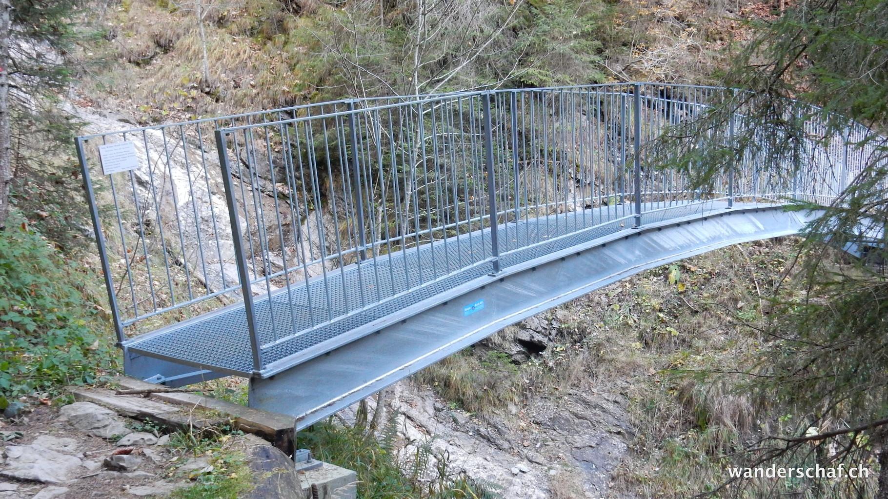 Brücke in der Eibachschlucht
