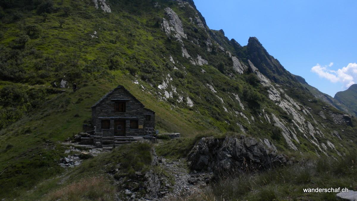 das Bivacco Alpe della Colma
