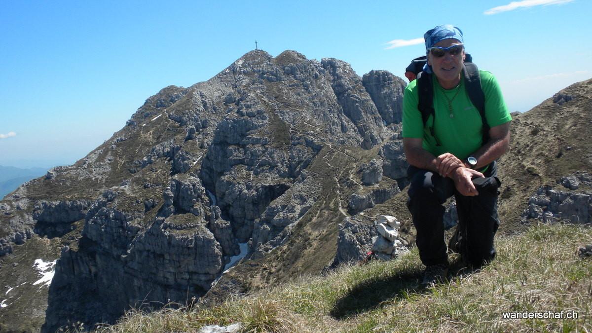 Blick zurück zum Monte Resegone