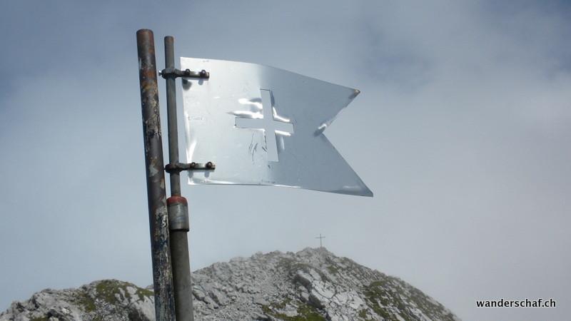Wildhuser Schafberg Vorgipfel und im Hintergrund der Hauptgipfel