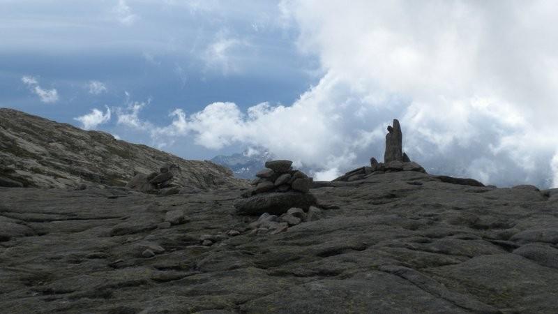 spiezielle Wetterlage in der Bocca a Stazzona