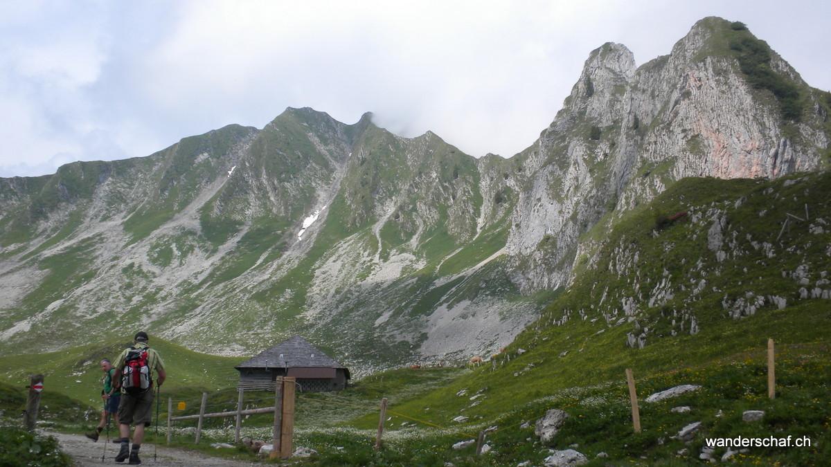 Unterwegs Richtung Morgetenpass