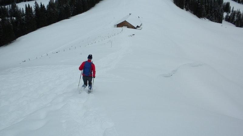 im Abstieg Richtung Alp Widegg