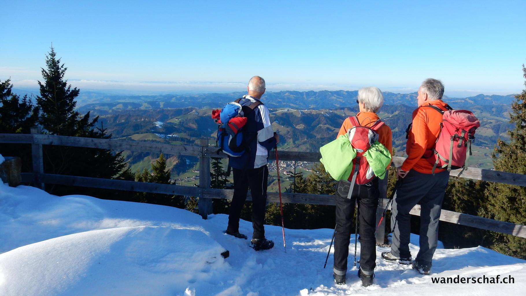Aussicht Richtung Langnau