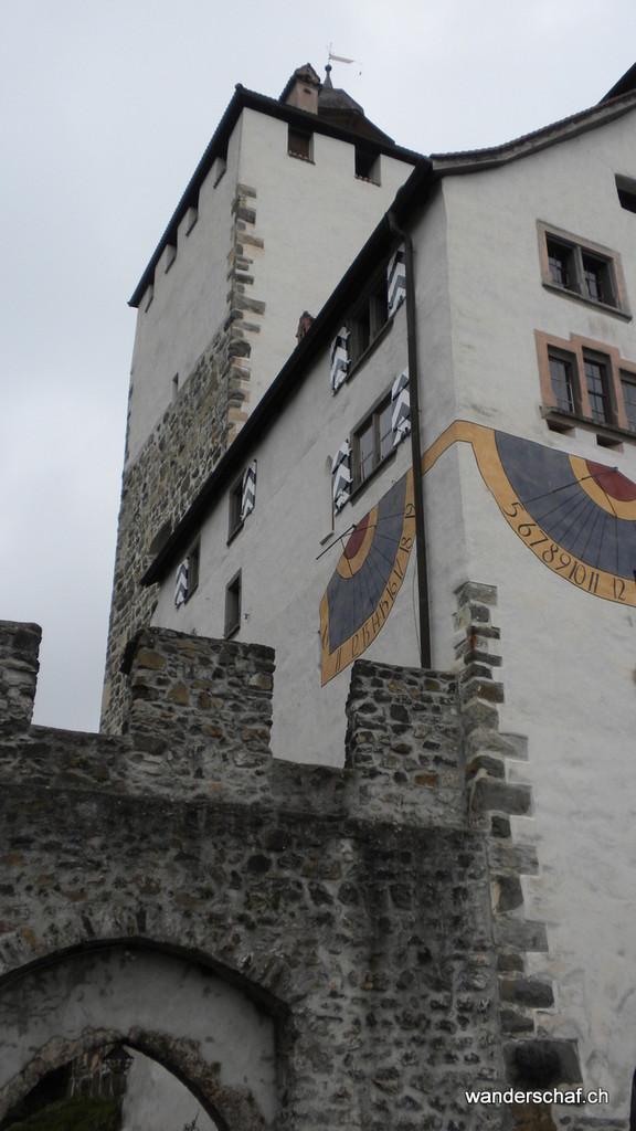 oben beim Schloss