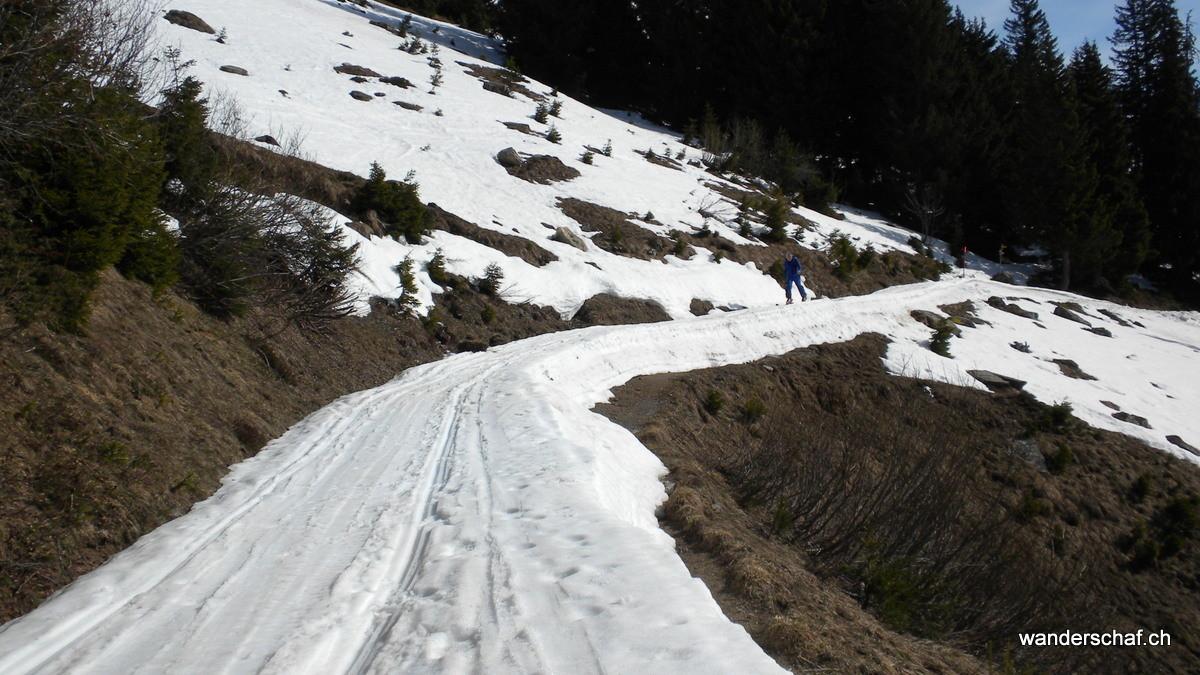 weiter geht's zur Bergstation La Marnèche