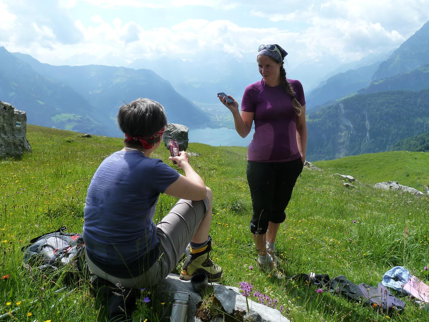beim Lauweli gibt's den Alpsegen