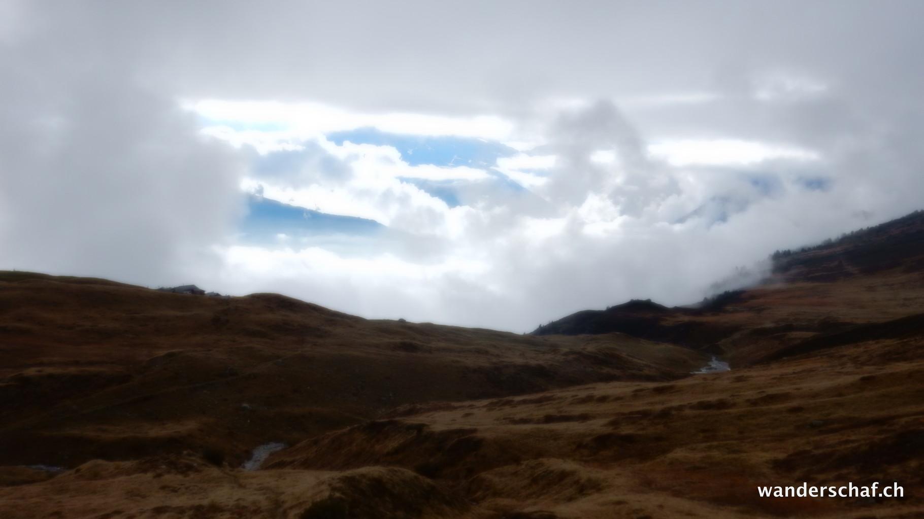 am Simplonpass drüben sieht das Wetter beser aus
