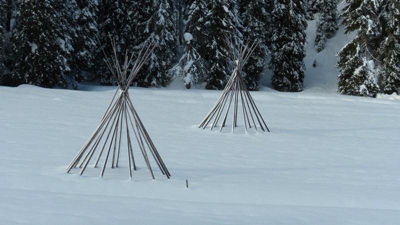 die Indianer vom Meniggrund sind ins Winterlager umgezogen