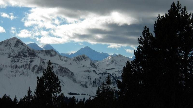 spezielle Stimmung Richtung Berner Oberland