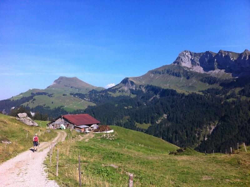 Unterwegs Richtung Stockhütte