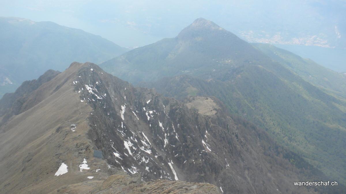 Blick zurück.....Monte Legnoncino