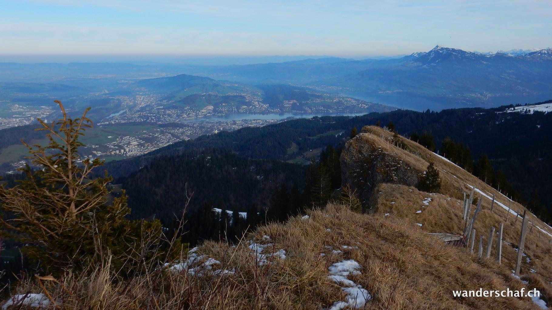 Aussicht Richtung Luzern