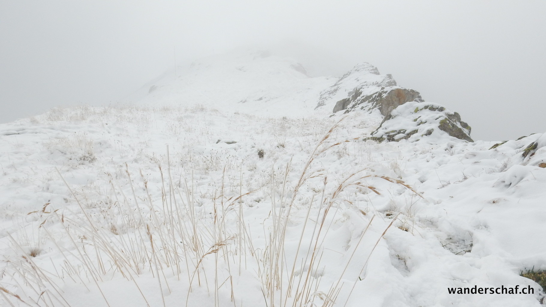 heute ist Schneestapfen angesagt