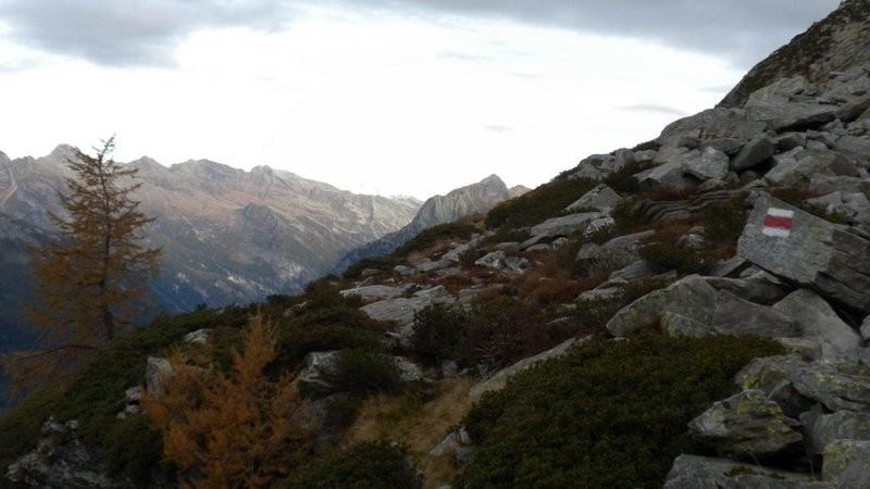 im Aufstieg zur Bassa di Pertüs