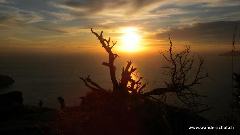 Sonnenuntergangs-Impressionen
