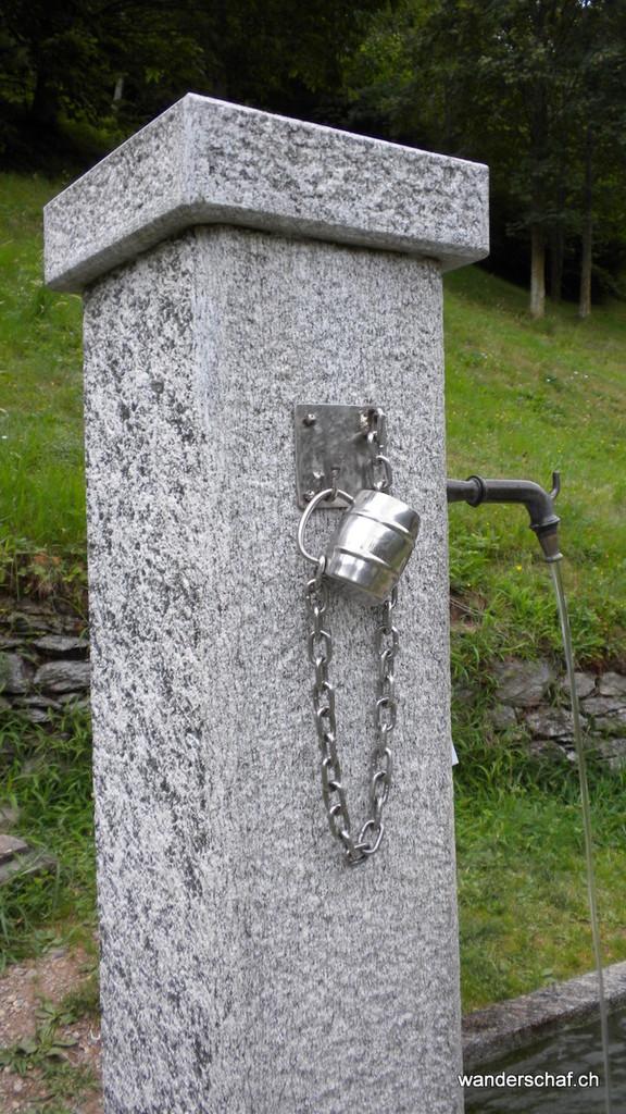 feines Quellwasser findet man fast überall im Val Grande