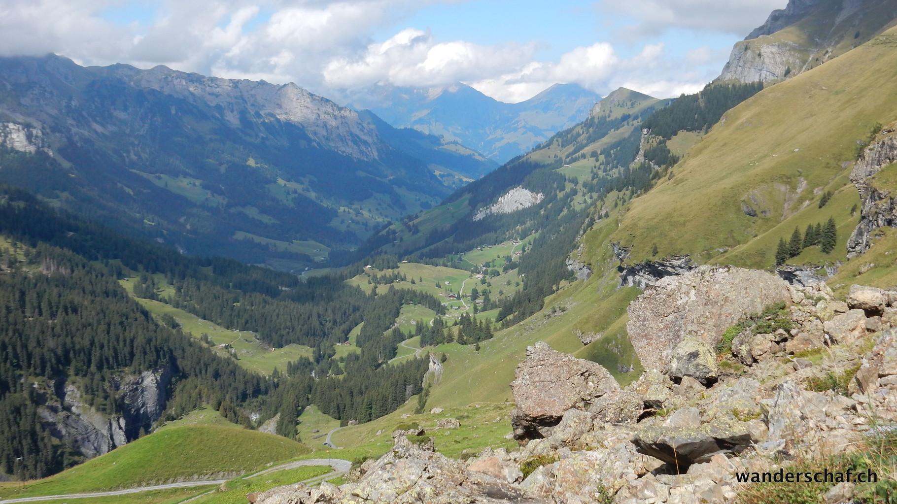 Aufstieg von der Griesalp Richtung Sefinenfurgge