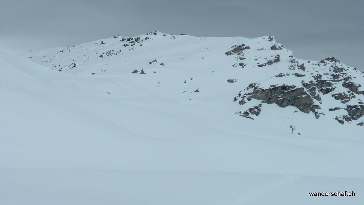 Blick zurück zum Mont Noble