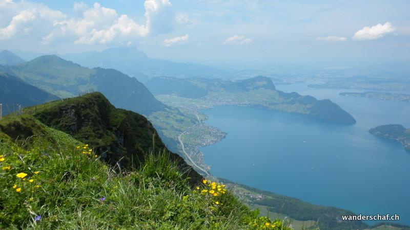 Blick Richtung Luzern