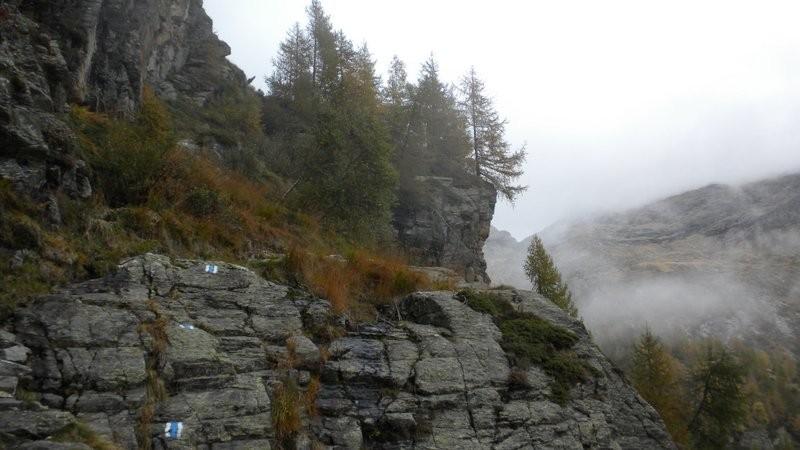 der Nebel ist wieder im Anmarsch