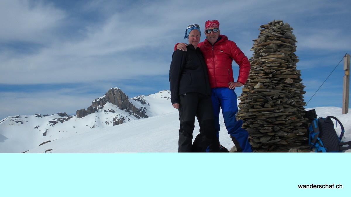 ein Fotoapparatproblem auf dem Sex Rouge...ausgerechnet beim Gipfelfoto ;o(
