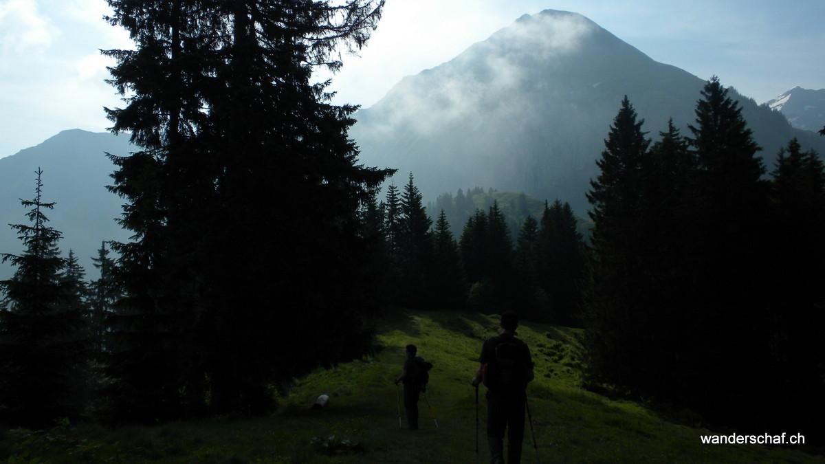 Unterwegs Richtung Brunni