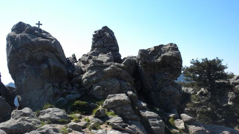 Blick zurück zum Croix Leccia