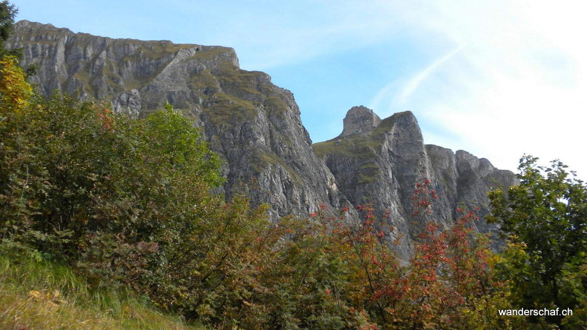 Girenspitz trohnt unterhalb der Gauschla
