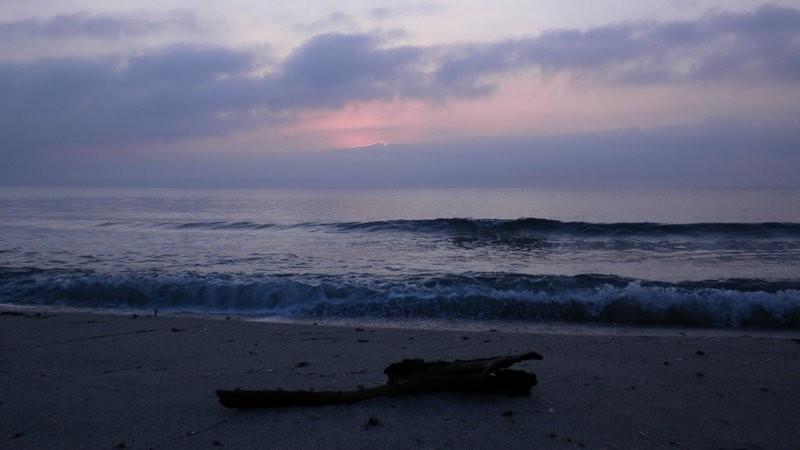 Sonnenaufgangsstimmung am nächsten Morgen