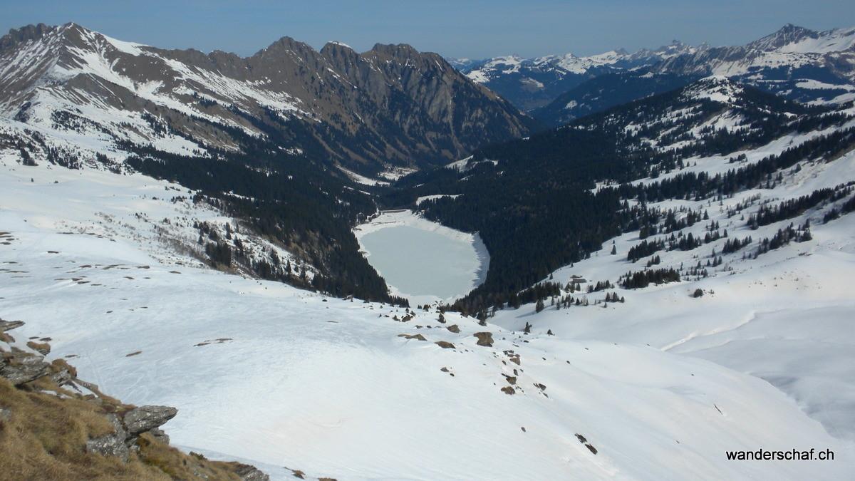 Blick zum Arnensee runter