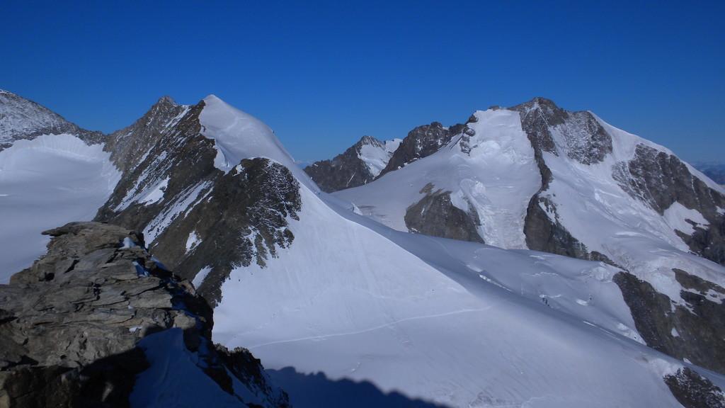 Blick Richtung Piz Bernina