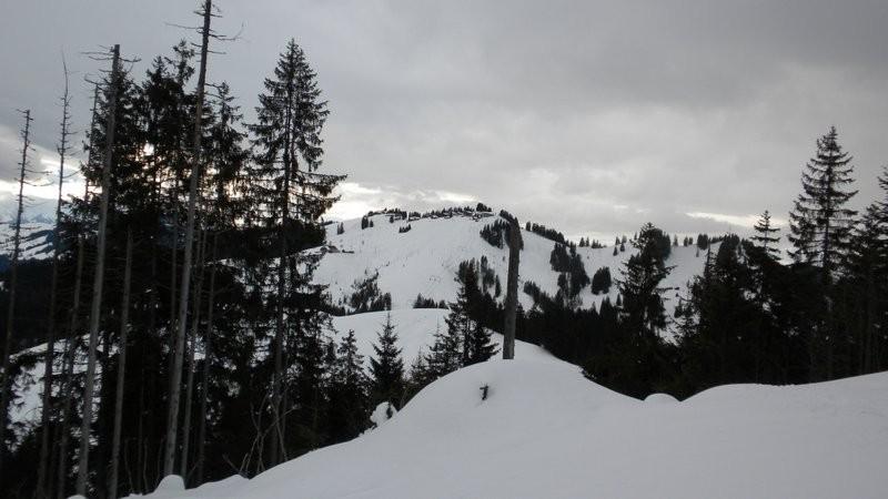 Blick zurück zur Marbachegg