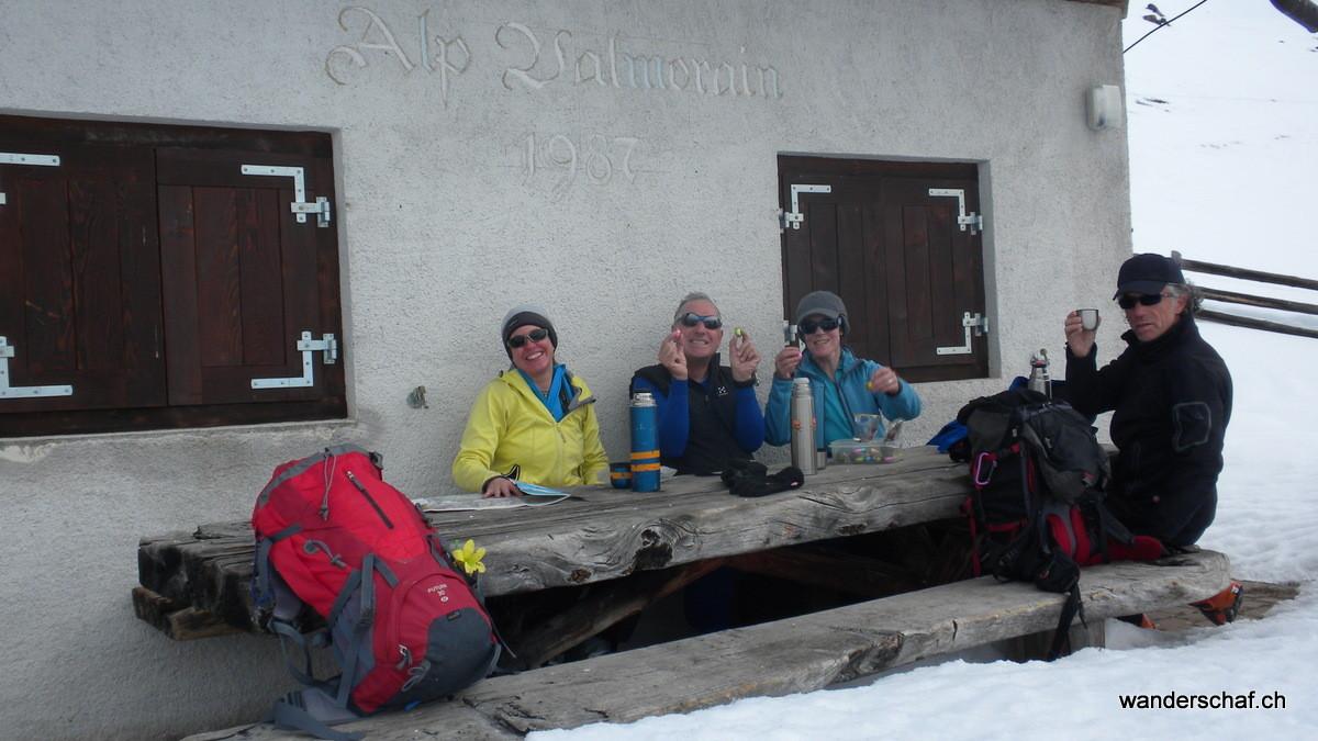 auf der Alp Valmorain