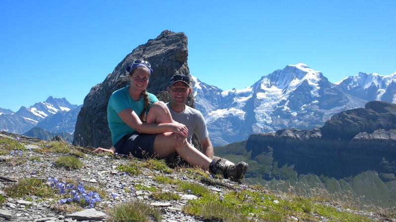 Gipfelfreude auf dem kleinen Lobhorn