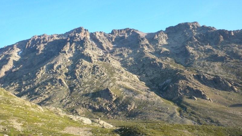 Monte Cinto in Sicht