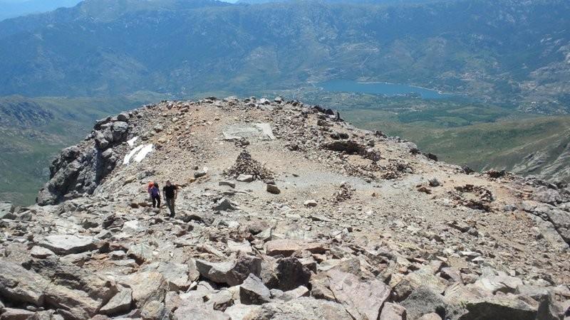wer ist den da im Anmarsch!? Unverhofftes Gipfeltreffen auf dem Monte Cinto mit [user]daenu und seiner Freundin