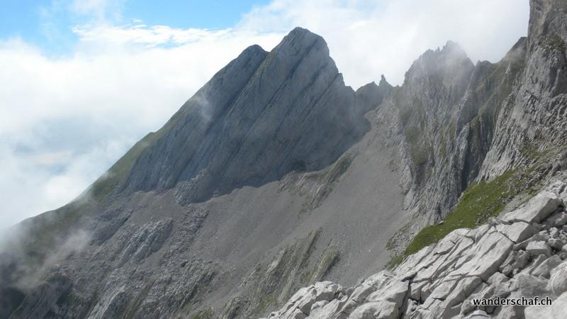 Blick zurück zum Wildhuser Schafberg