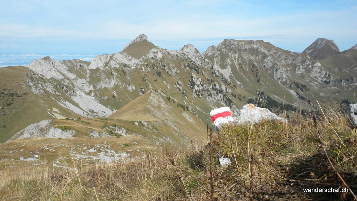 Alpiglemäre, Ochsen, Bürgle und Gantrisch