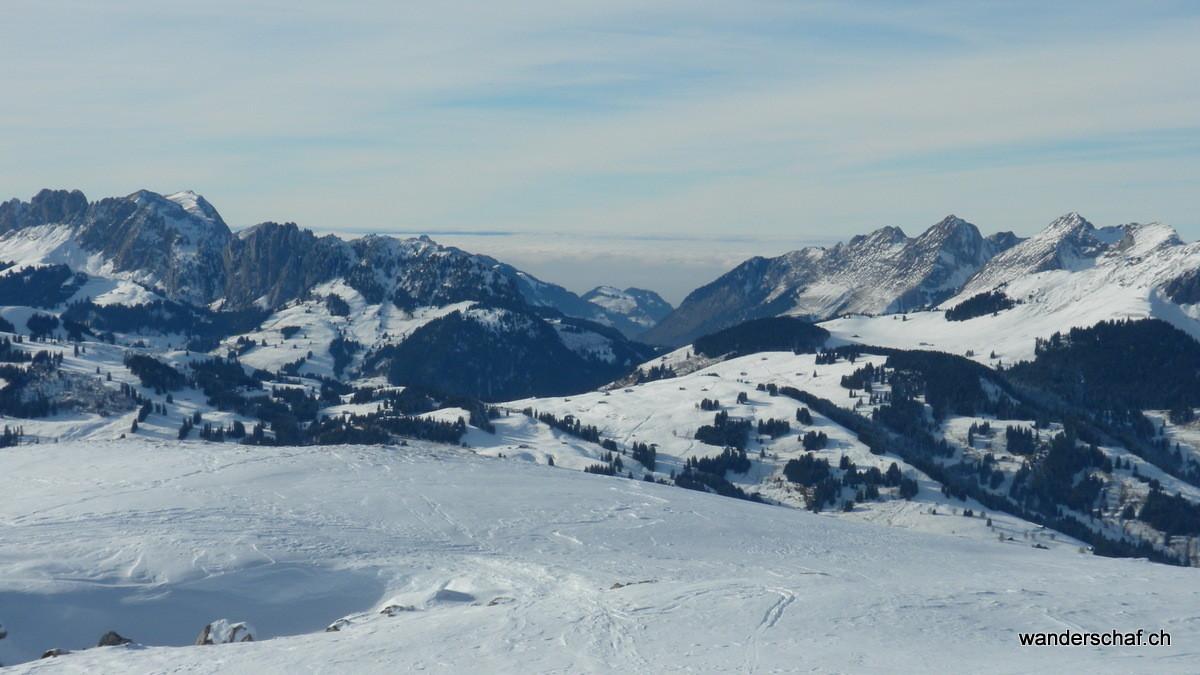 Nebelmeer Richtung Fribourg