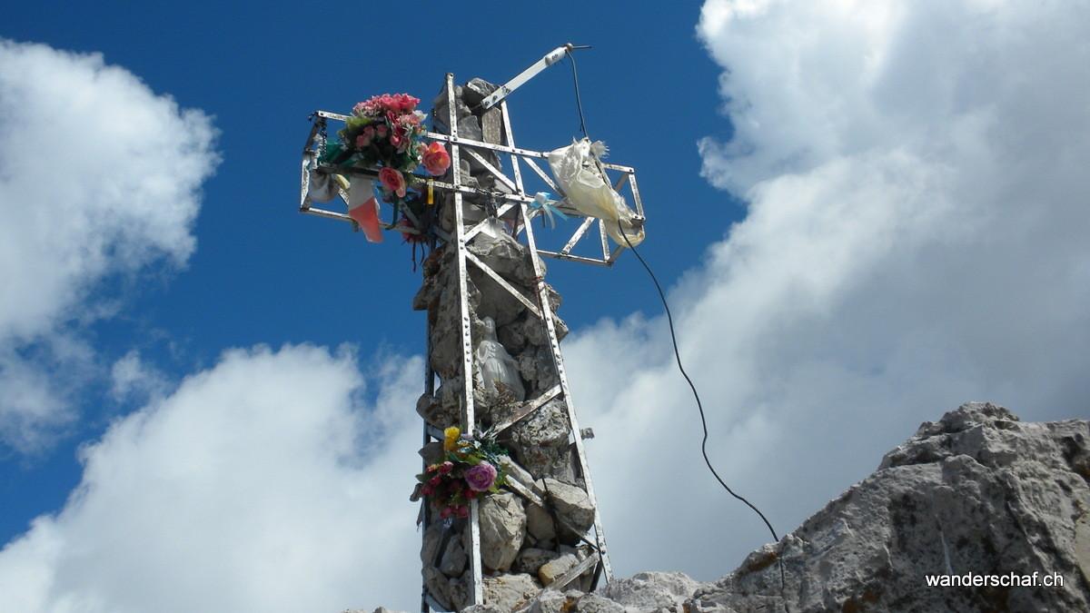 Gipfelkreuz auf der Grignetta