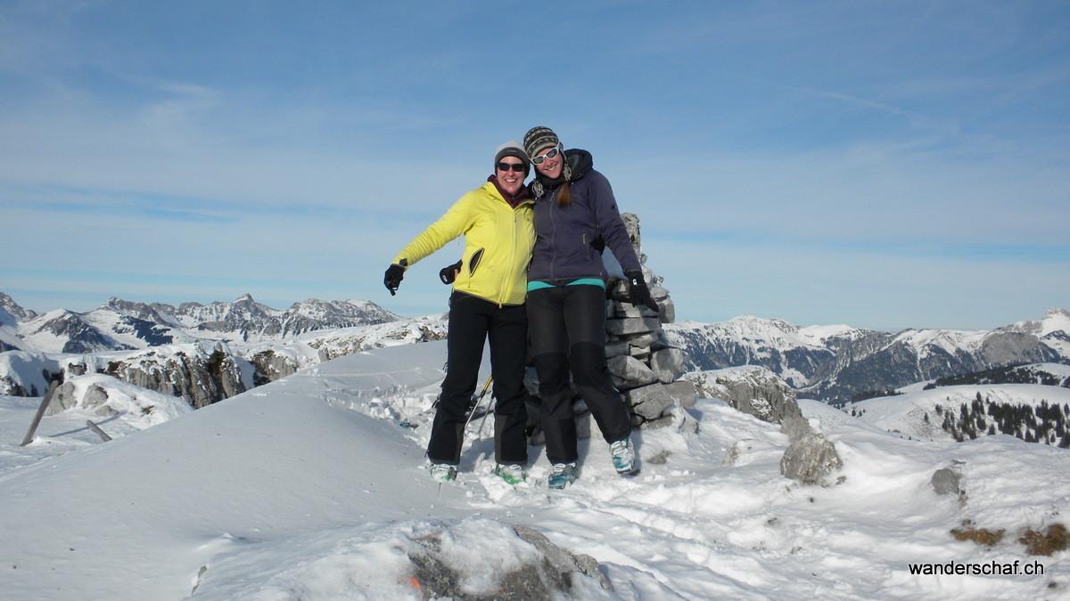 die ersti Skitour vor Sasion...juhui!
